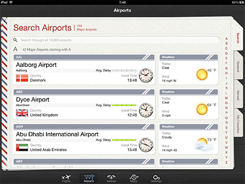 Flightplus for ipad