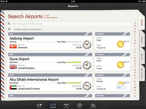 Flightplus for ipad