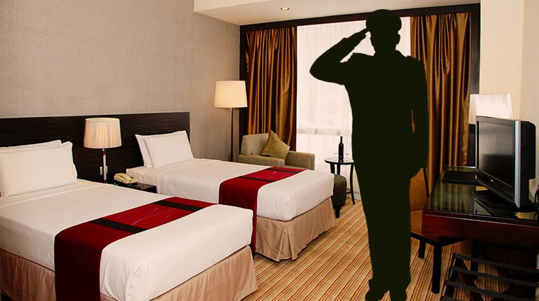 Hotel Packages for Indian Defence Officers