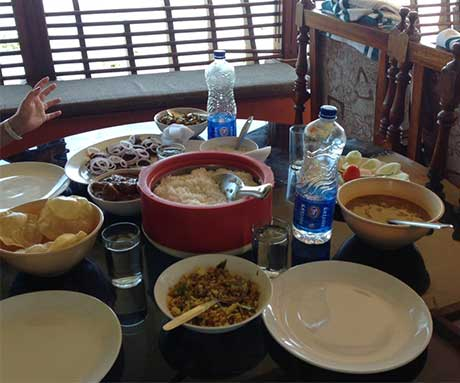 Kerala Houseboat Lunch